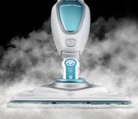 pulizie di casa con il vapore